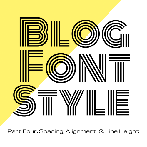 One Line Font Art : Code it pretty font style with css spacing