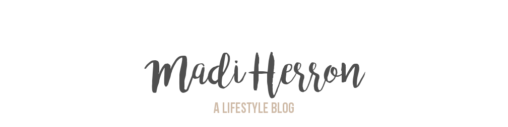 Madi Herron Blog