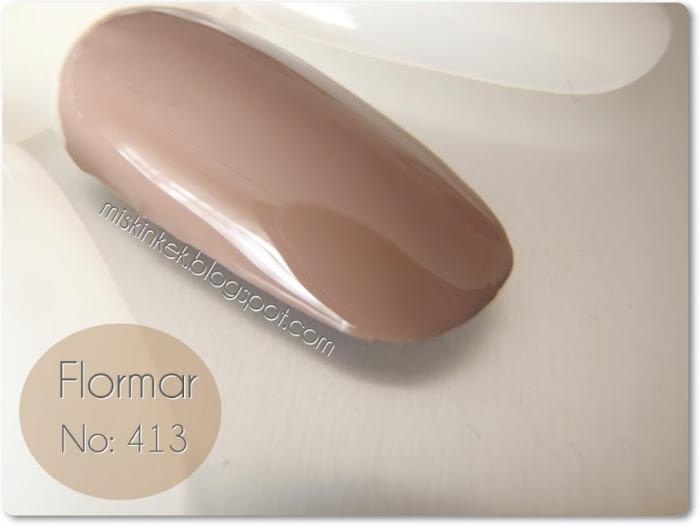 oje,flormar,flormar 413,nail polish,swatch,kozmetik