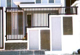 Contoh Model Desain Pagar Rumah Minimalis Modern