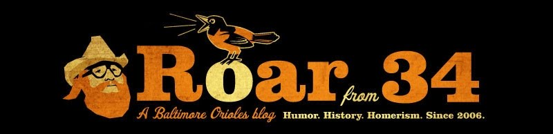 Roar from 34 - A Baltimore Orioles Blog