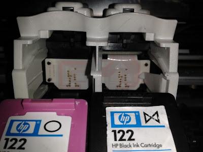Электронные схемы современных принтеров HP