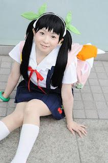 Bakemonogatari cosplay, Mayoi Hachikuji by Kanan Kaori