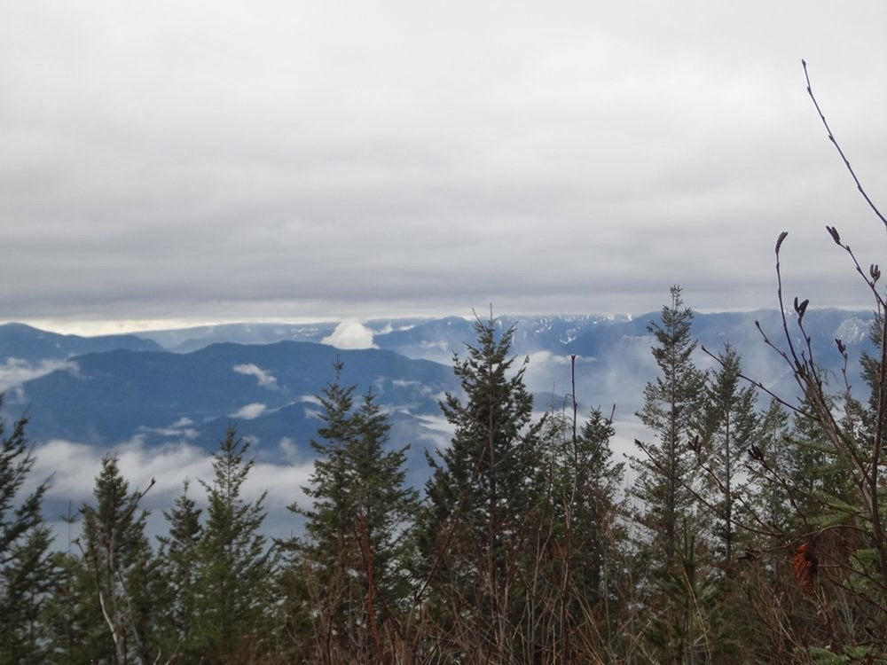 View of mountains from Brunswick Mountain