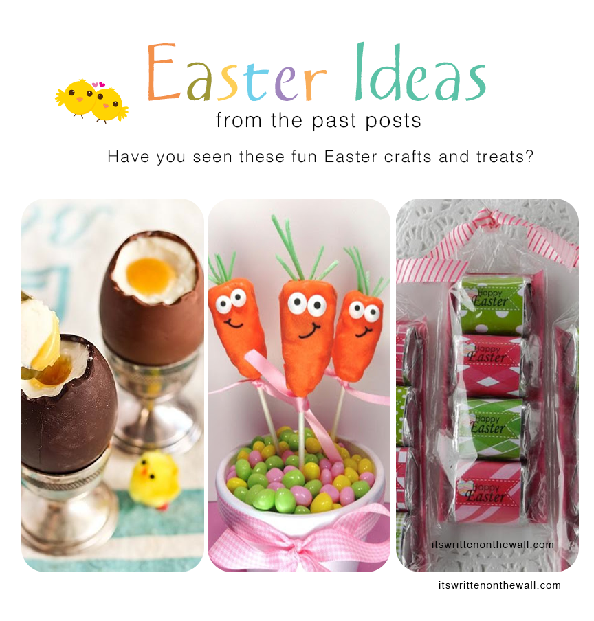 Check out the Past  Easter Crafts & Treats