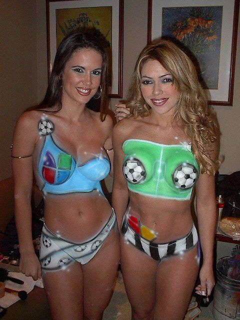 Body Painting Body Painting Women 39 Soccer
