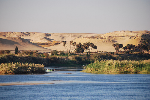 Nile river informative tour