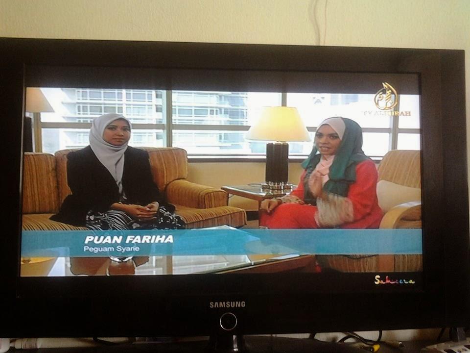 Sebagai tetamu undangan di TV Al-Hijrah 26 Ogos 2013