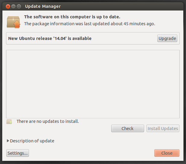 how to upgrade to ubuntu 14.04 LTS from ubuntu 12.04 LTS