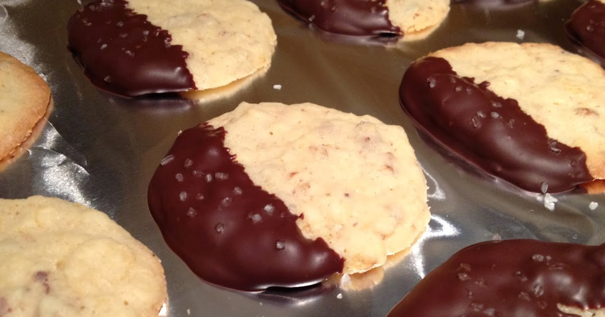 Headspace: Chocolate-Dipped Potato Chip Cookies