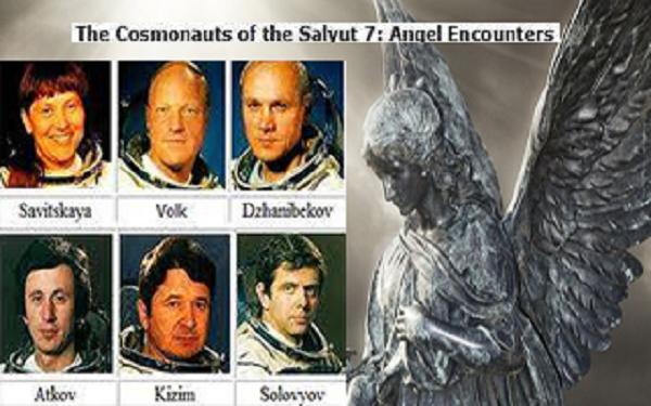 Οι κοσμοναύτες του Salyut 7 είδαν 7 αγγέλους στο διάστημα