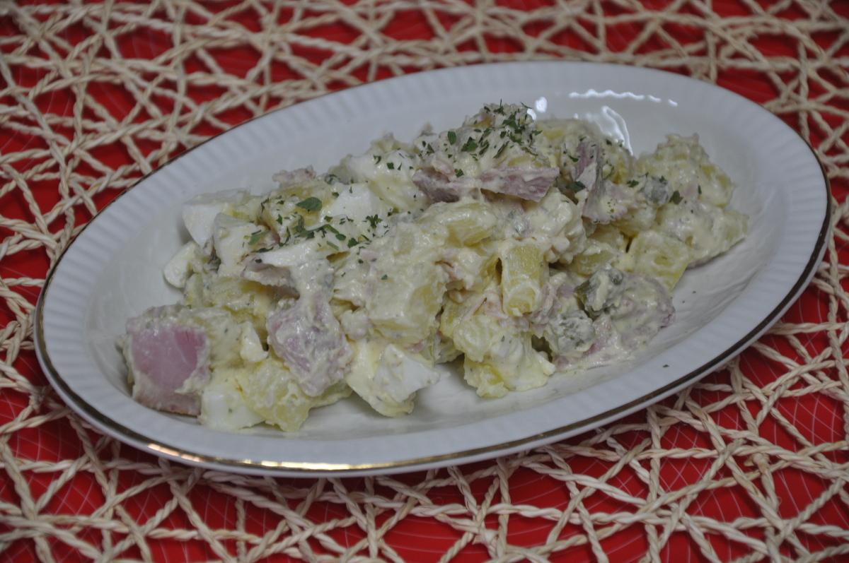 Hecho en casa ensalada francesa piamontesa for Ensalada francesa