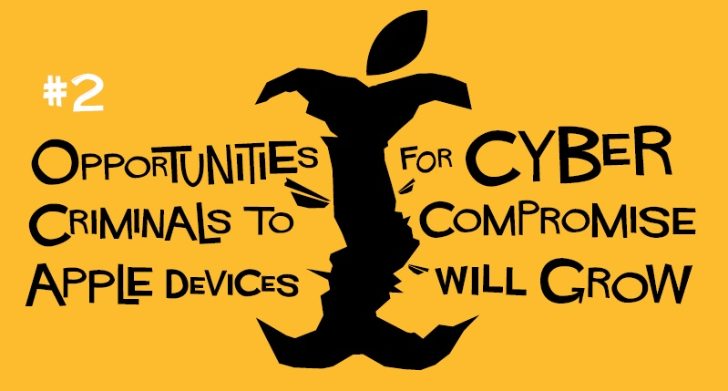 2. Opportunities For Cybercriminals To Compromise Apple Devices Will Grow