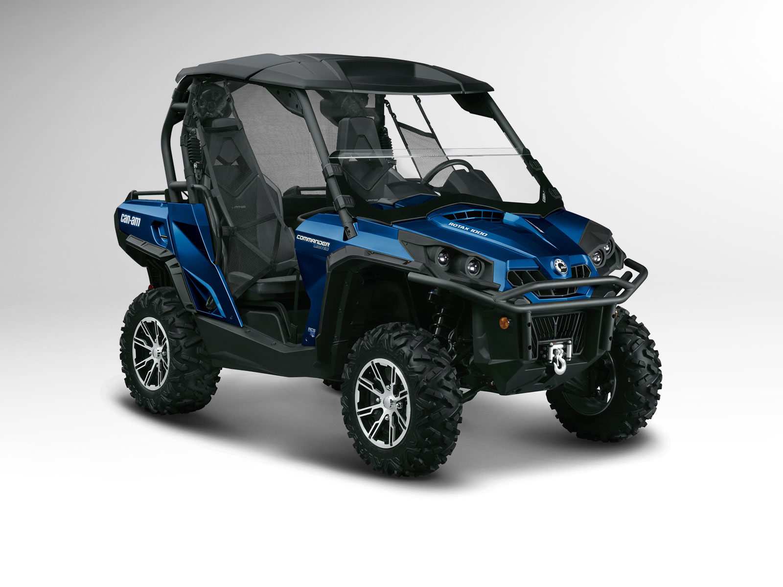 2012 Can-Am Commander 1000 Limited ATV pictures 3
