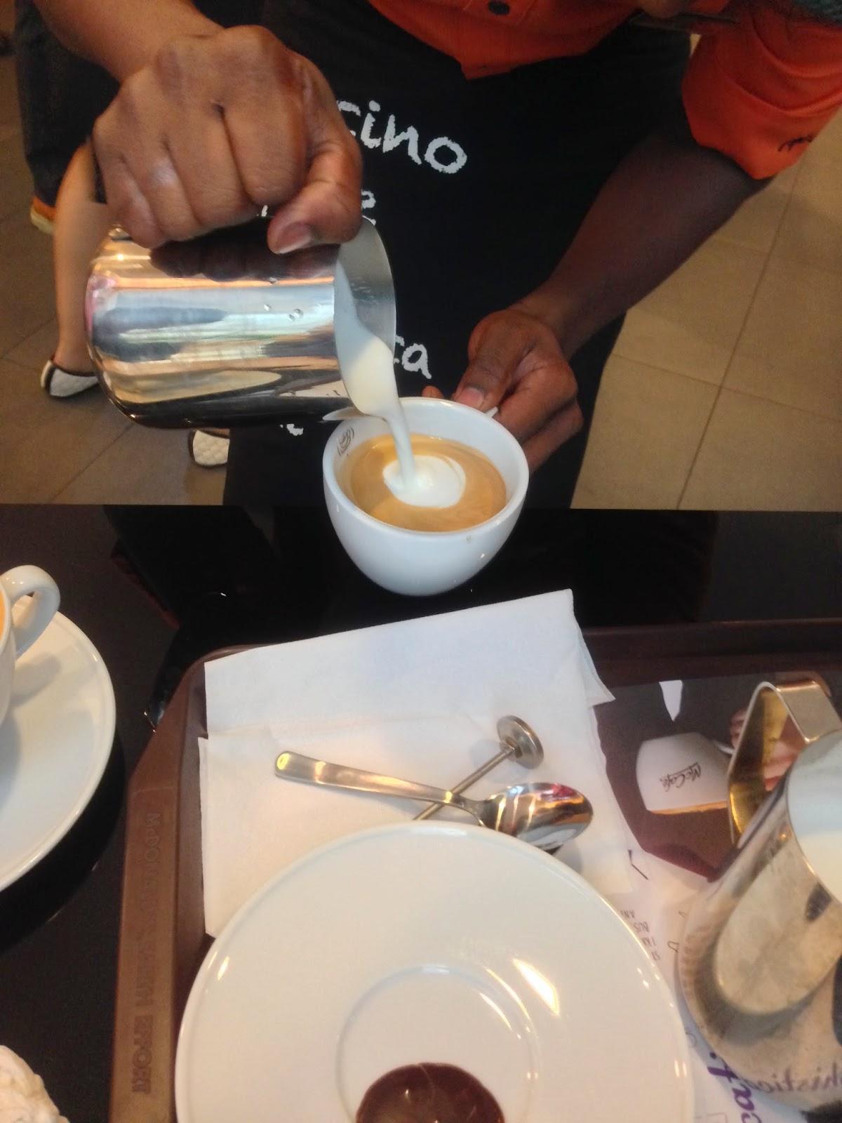 3D Latte Art 1