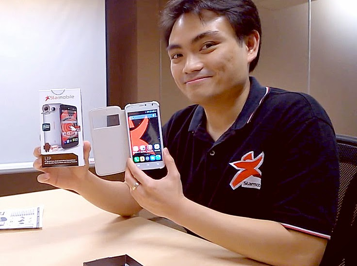 Elijah Mendoza, Starmobile Up, Starmobile Android Smartphone