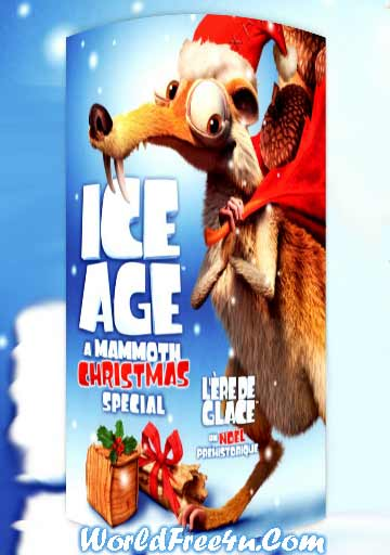 Poster Of Ice Age: A Mammoth Christmas 2011 In Hindi Bluray 1080P Free Download