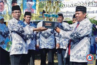 Kota Bima Juara Umum  Porseni PGRI se-Provinsi NTB