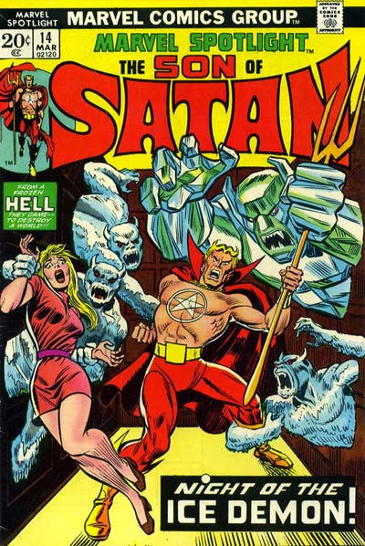 Marvel Spotlight #14, The Son of Satan, Ikthalon