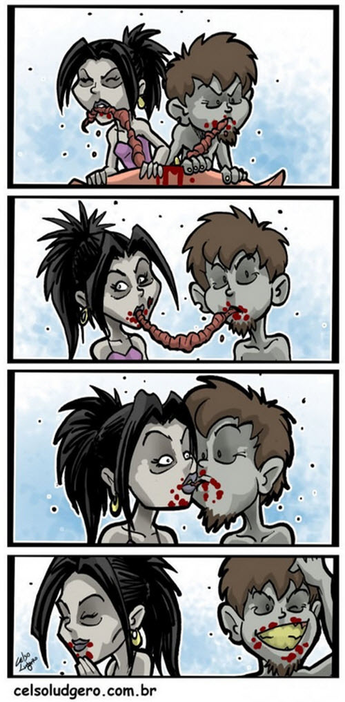 Zombie Love is all around