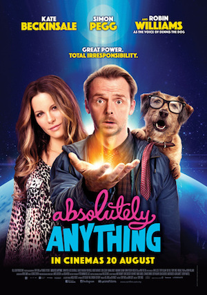 Poster Absolutely Anything 2015