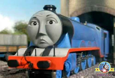 Thomas and friends Edward the blue engine is old steam pot train Gordon the big express sniffed