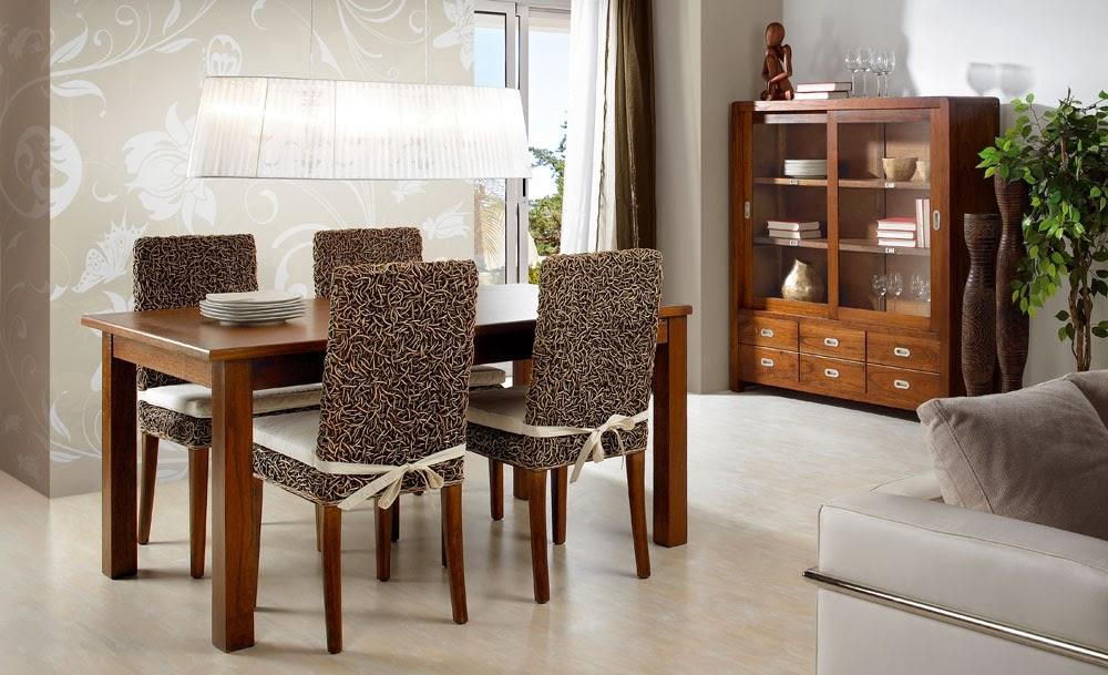 Muebles de comedor febrero 2014 for Visillos para comedor