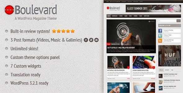 Boulevard - A WordPress Magazine Theme - Free Wordpress Themes ...