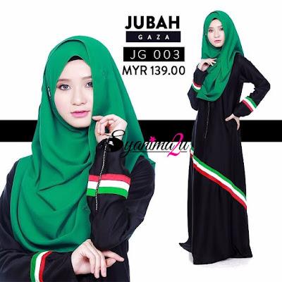 Jubah-Gaza-JG003