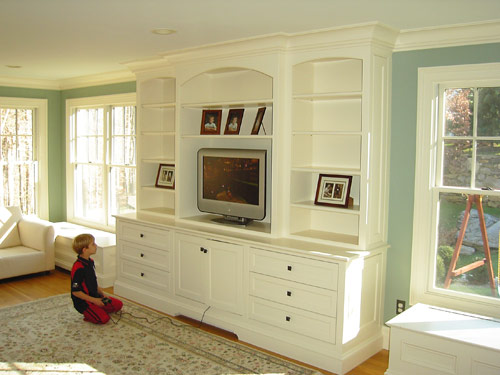 Wall Unit Built In Cabinets (5 Image)