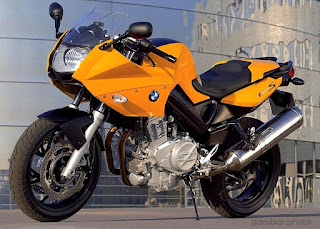 BMW F800S motorcycle