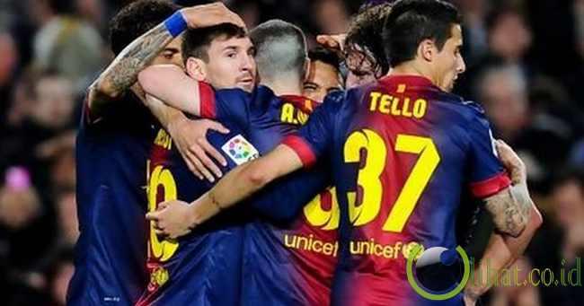 FC Barcelona - 157,605 poin