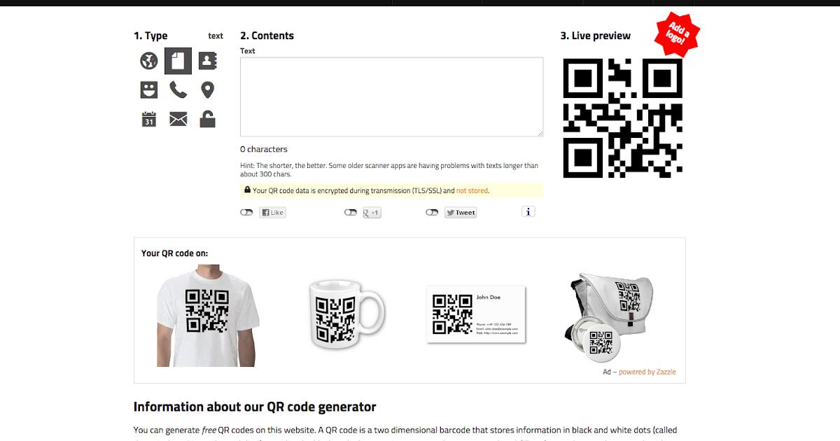 10 Best Free Online QR Code Generator 2018 DesignMaz - oukas.info