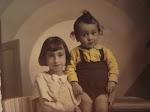 mis primos ,isabel y asensio, años 30