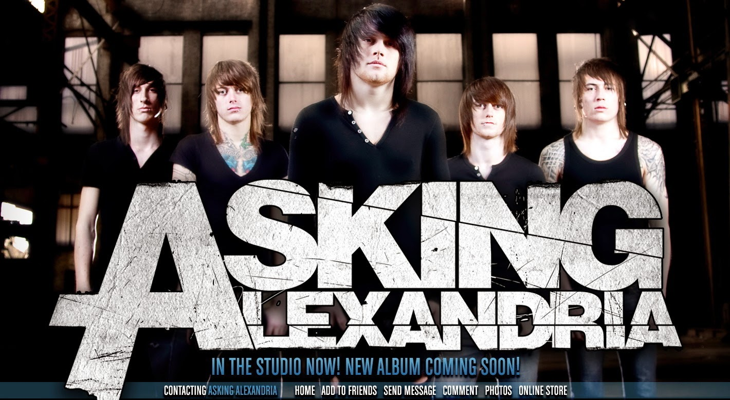 band metal asking alexandria