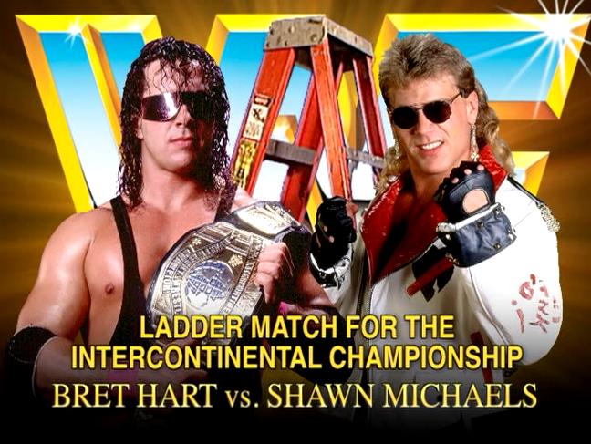 !Бодрый январь! - Первый лестничный бой в истории WWF