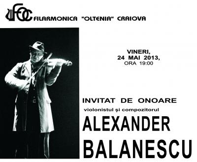 Alexander Balanescu la Filarmonica Oltenia Craiova