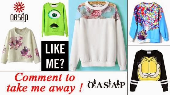 oasap giveaway, sweater giveaway, pretty, oasap, giveaway,
