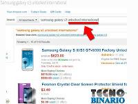 como comprar celulares en Amazon