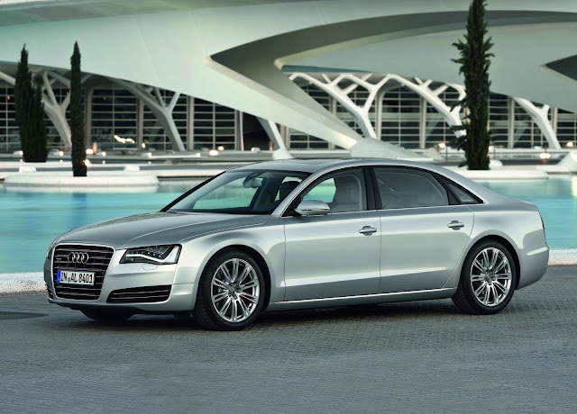 2012 Audi A8 L static HD Wallpaper