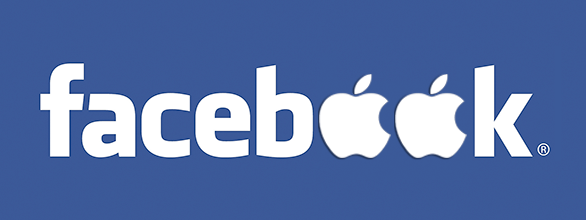 Faceb(Apple)k - Fonte/Reprodução: http://www.wisestep.com/column/Facebook-ties-with-Apple-to-shell-out-iTunes-gifts