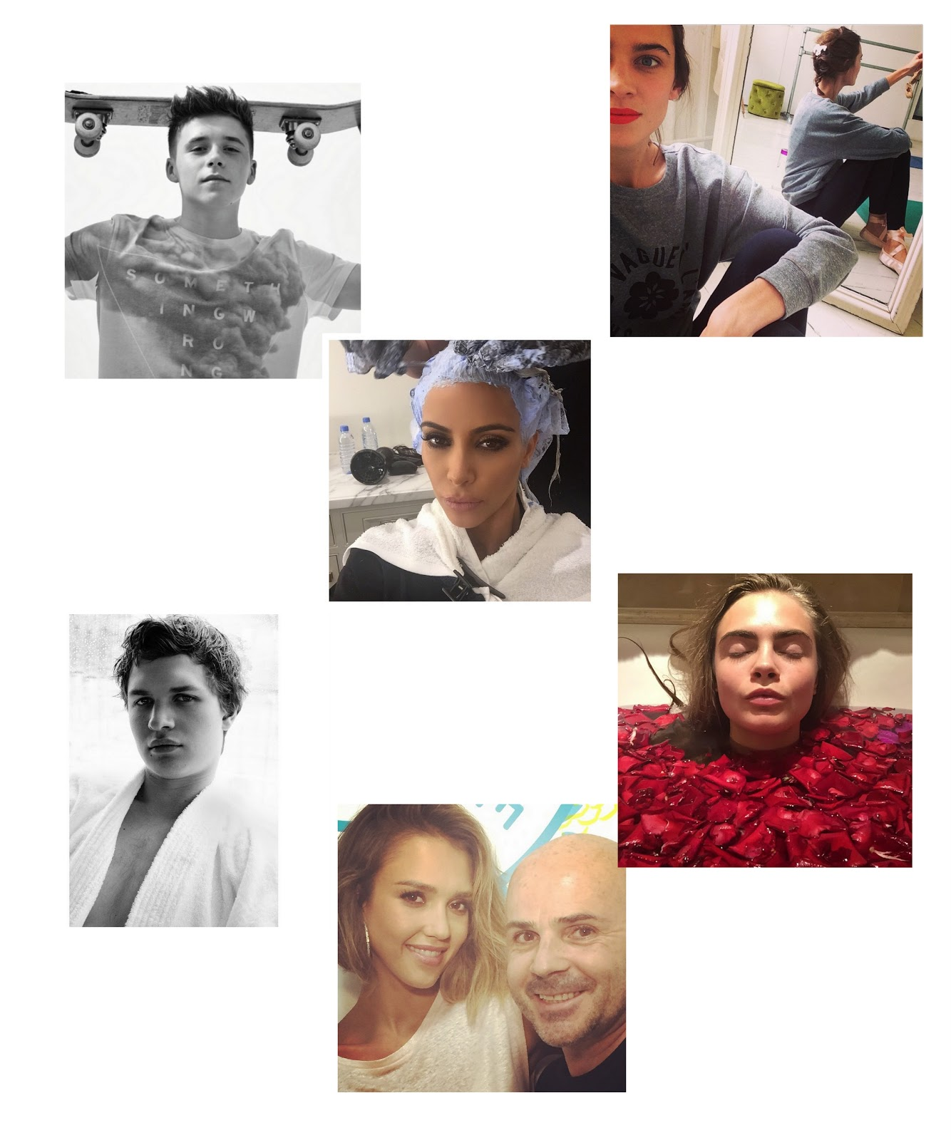 instagram, favourites, deau, blogger, dominique, candido, fashion, mode, jessica, alba, mario, testino, kim, kardashian, brooklyn, beckham, alexa, chung, cara, delevingne