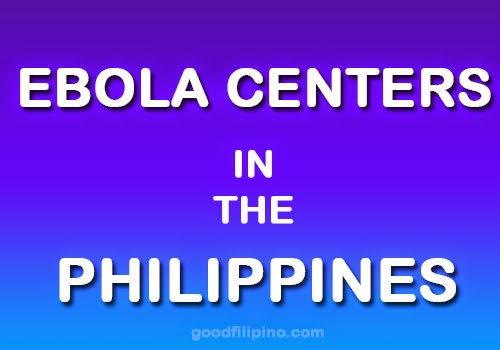 3 PH hospitals to serve as Ebola centers