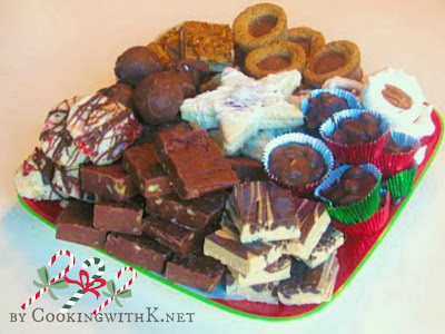 Old Fashioned Christmas Gift Box of Treats