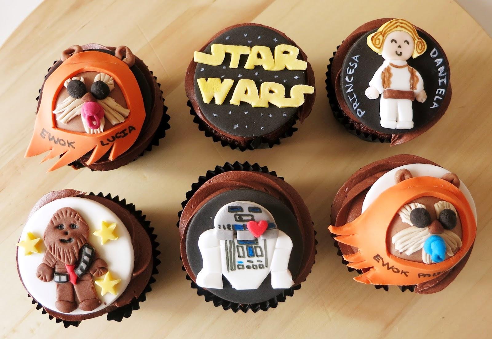 Anatomía de Cake: Cupcakes de Star Wars para el Dia del Padre