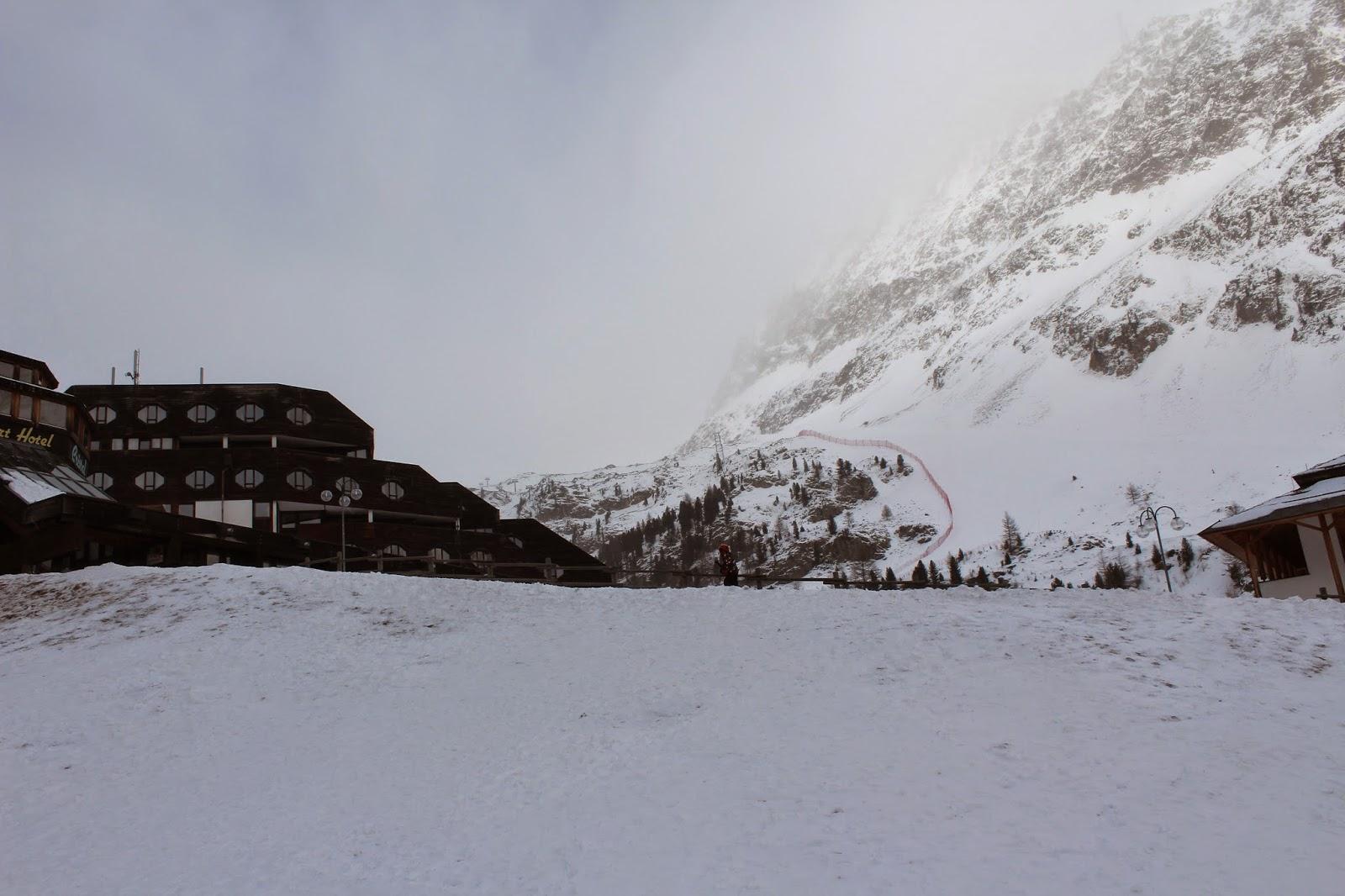 hotel blu senales w maso corto,ski rent,puch biały śnieg, zdjęcia hotelu,blogger