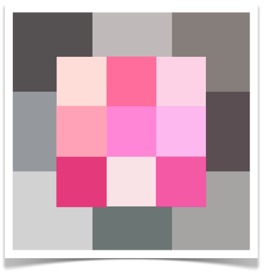 10 Rooms: color post: which pinks love grey