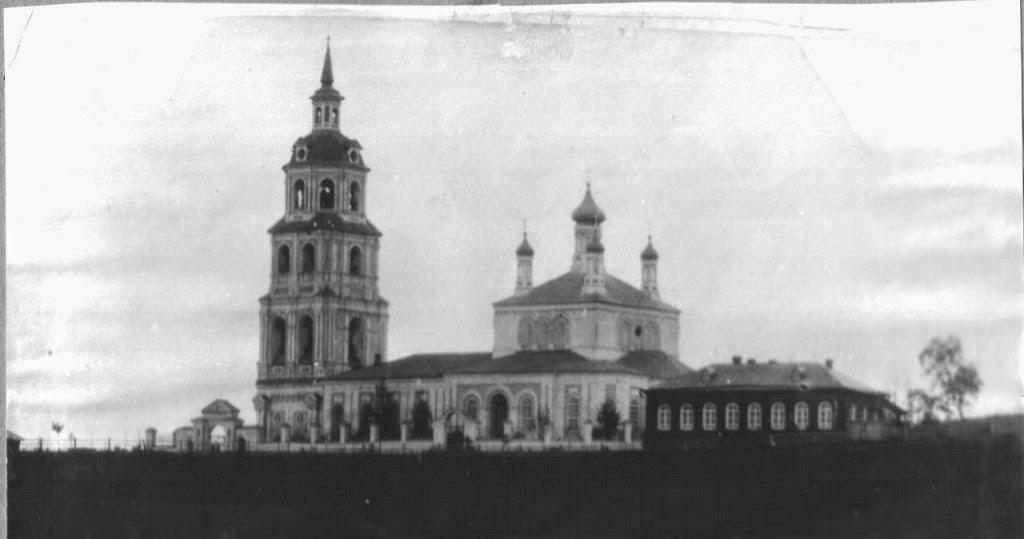 город Орлов, Благовещенская церковь старое фото