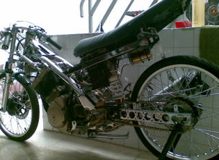 satria fu drag bike