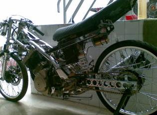 satria fu drag bike